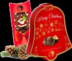 wyroby czekoladowe na boże narodzenie i wielkanoc - producent